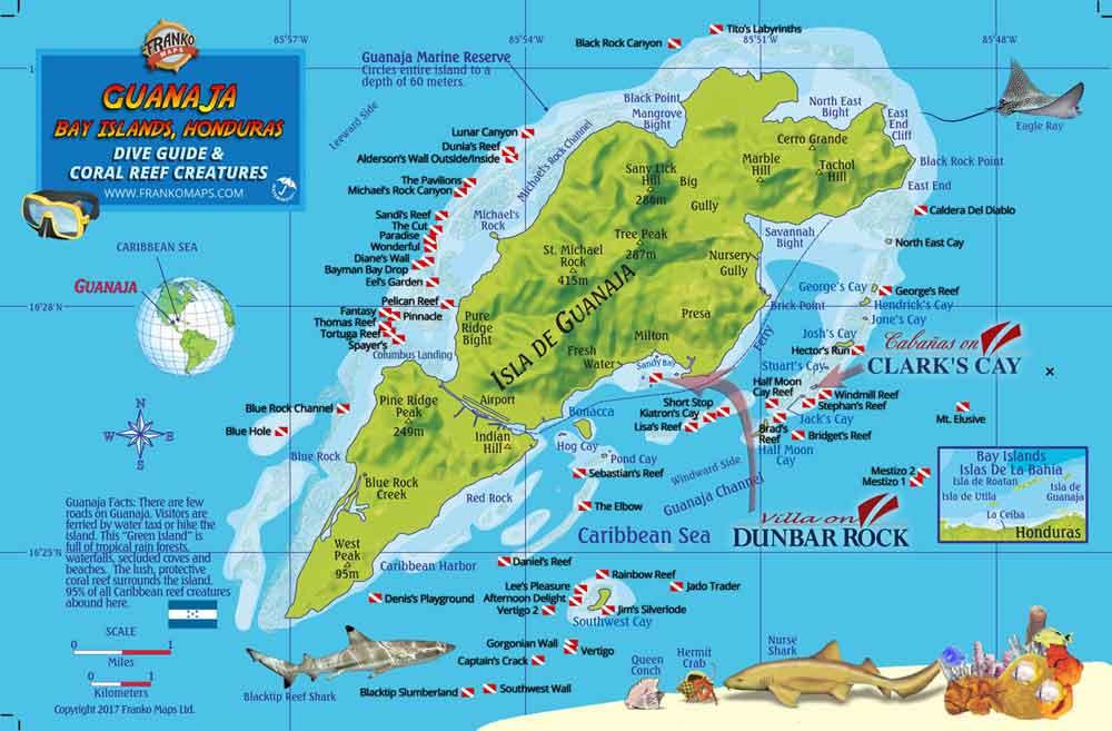 Guanaja Dive Sites
